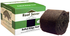 Roof Saver Rolled Ridge Vent